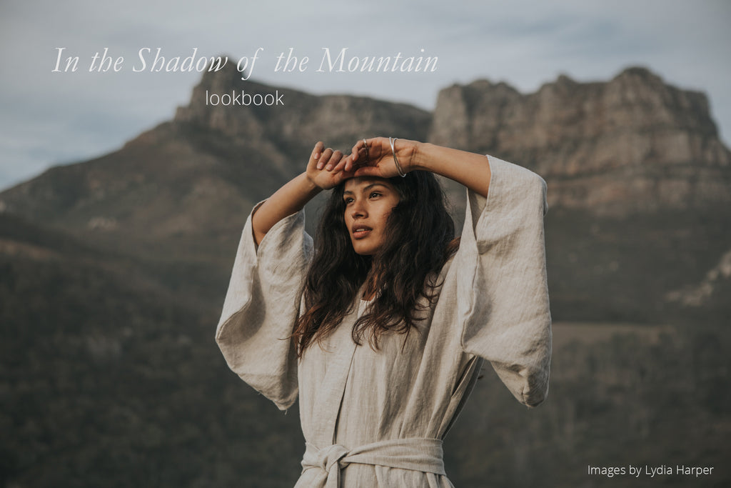 In the shadow of the mountain, an eco-friendly jewellery lookbook shot in Cape Town, South Africa