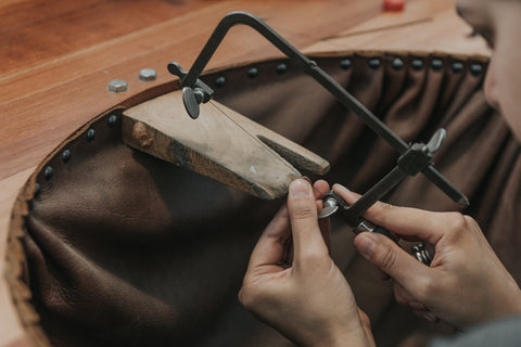 The process of handcrafting sustainable jewellery