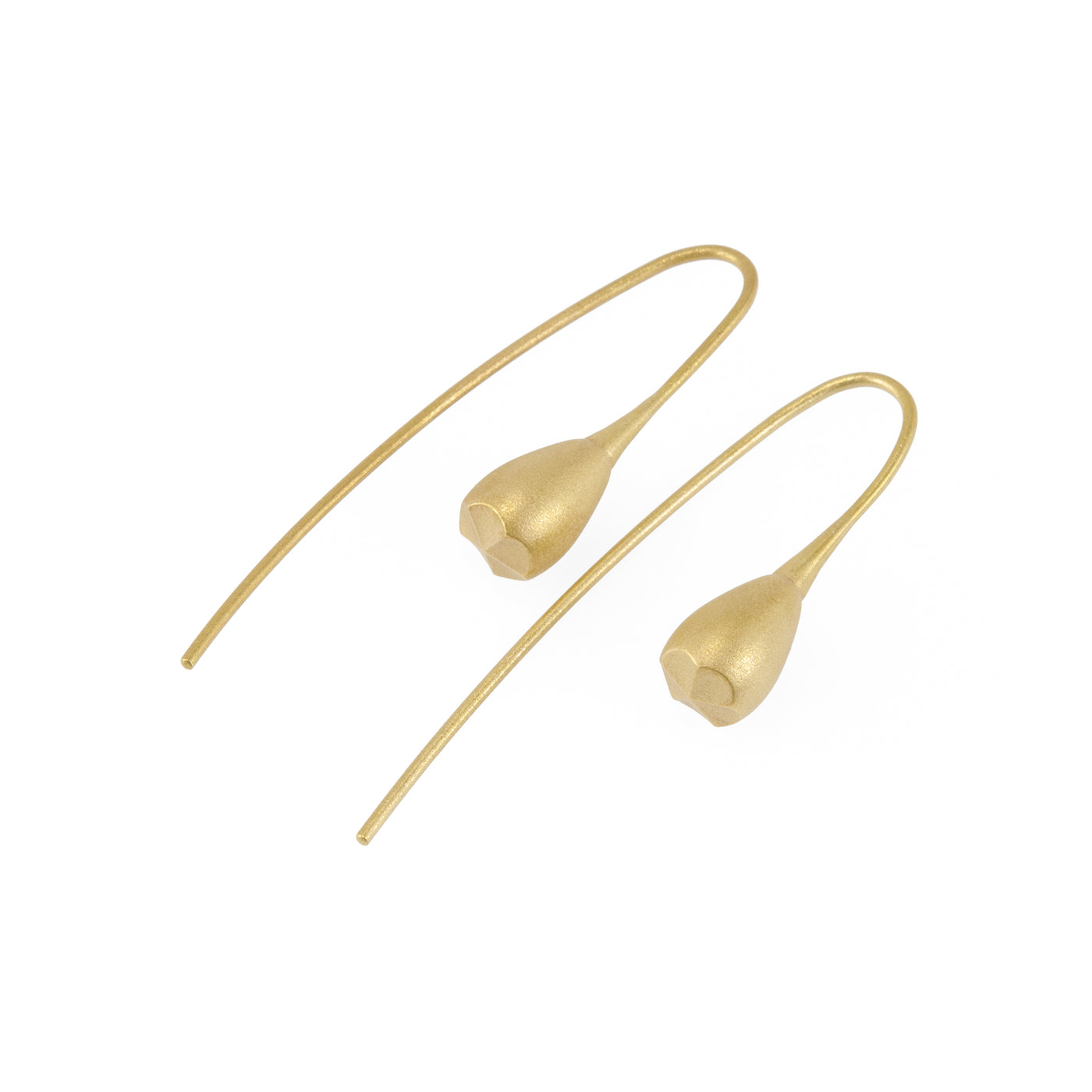 Pod Gold Earrings