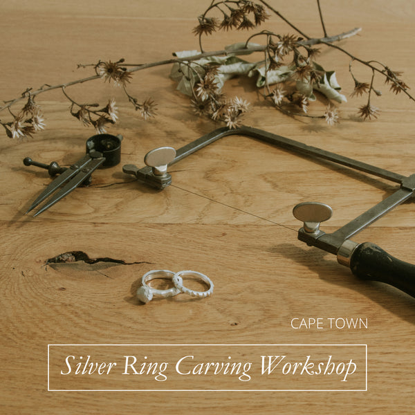 Cape Town Silver Ring Carving Workshop