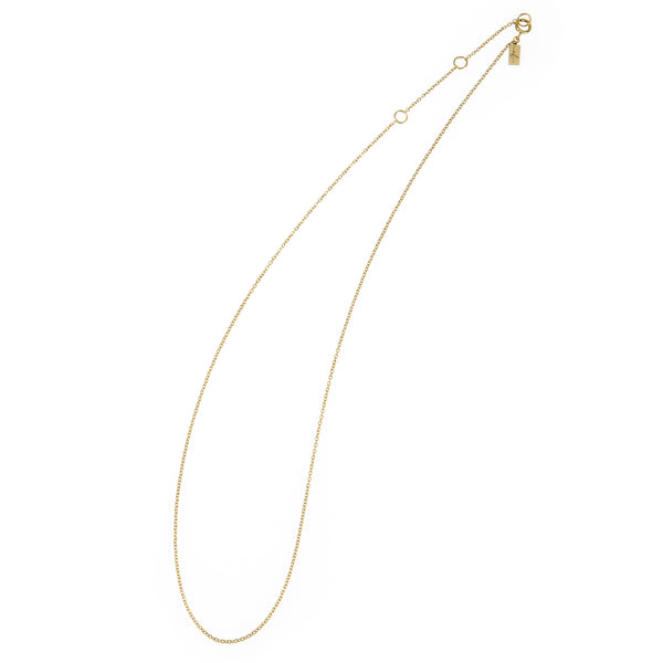 Ethical gold necklace. This eco-friendly Simple Chain is handmade in Cape Town in recycled gold from e-waste.