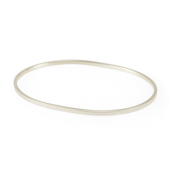Simple Oval Bangle