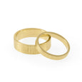 Strata Wedding Bands