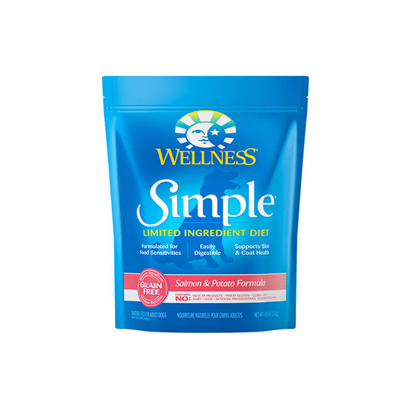 Wellness SIMPLE Limited Ingredient Salmon & Potato Recipe Dry Dog Food