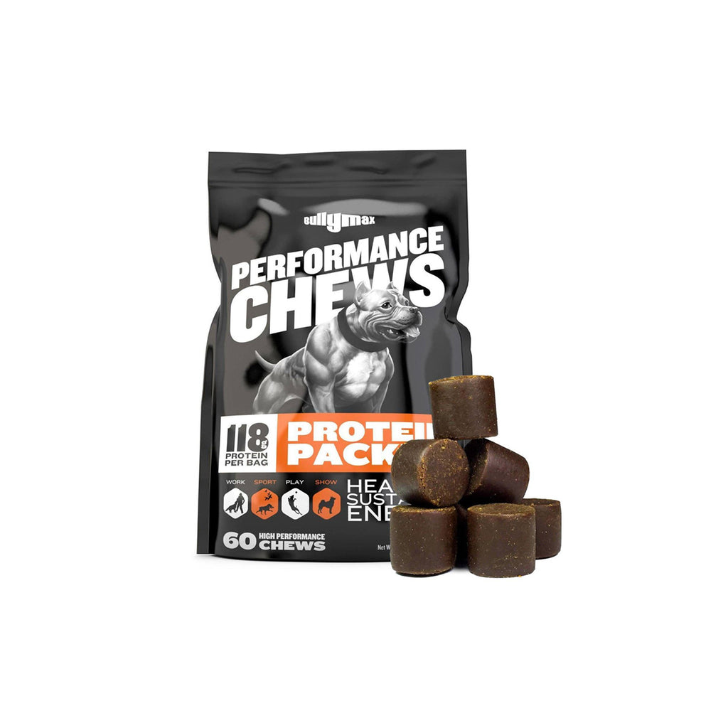 Bully Max Performance Chews Front