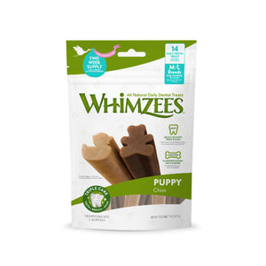 Whimzees Natural Puppy Dental Dog Chews