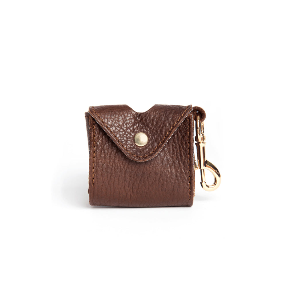 [CLEARANCE!] The Classic Dog Business Pouch by Owned & Adored in Chocolate Brown