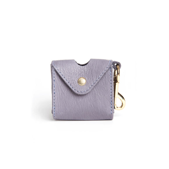 [CLEARANCE!] The Classic Dog Business Pouch by Owned & Adored in Greyberry Grey