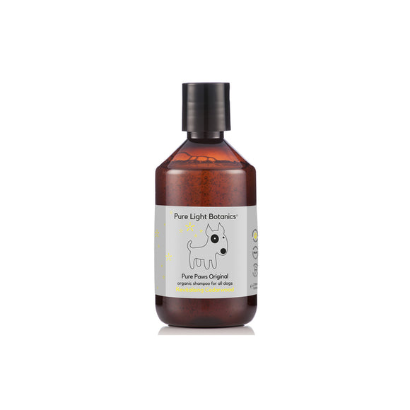 'Pure Paws' Original Cedarwood Dog Shampoo 250ml by Pure Light Botanics