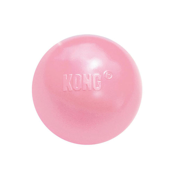 KONG Puppy Rubber Ball Pink