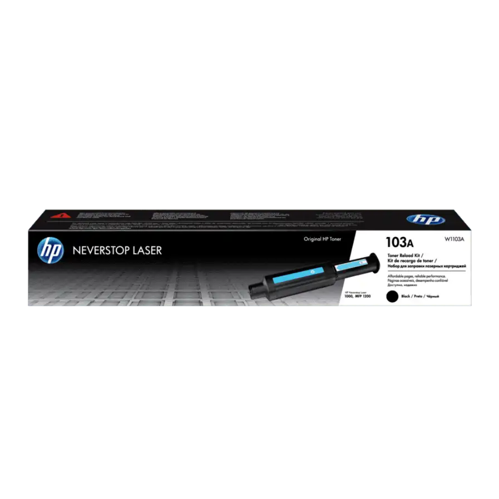 HP 103A Black Original Neverstop Laser Toner Reload Kit