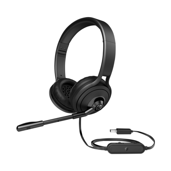 HP USB 500 Headset - Black
