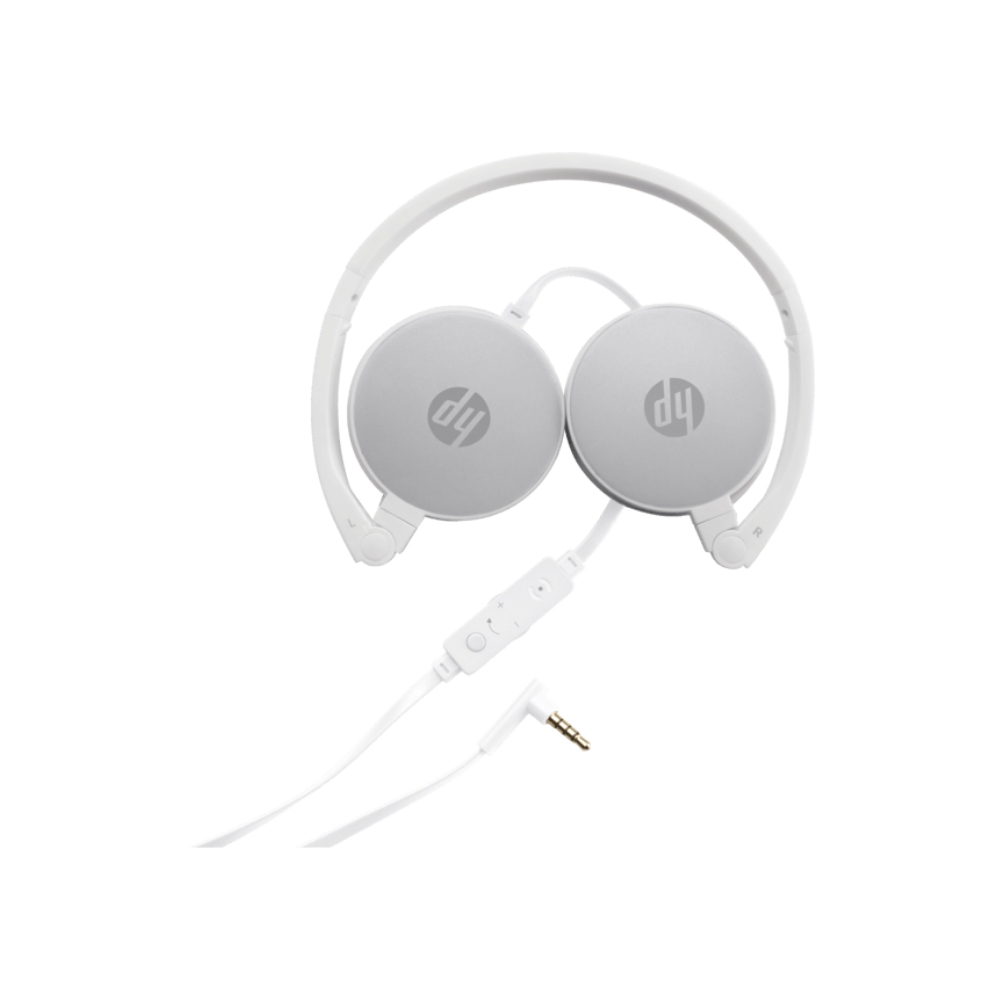 HP 2800 Stereo Headset - Silver