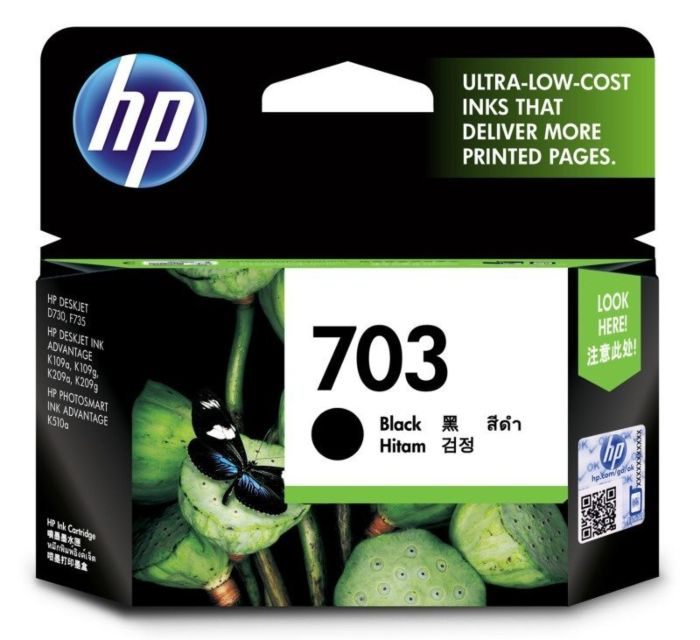HP 703 Black Cartridge
