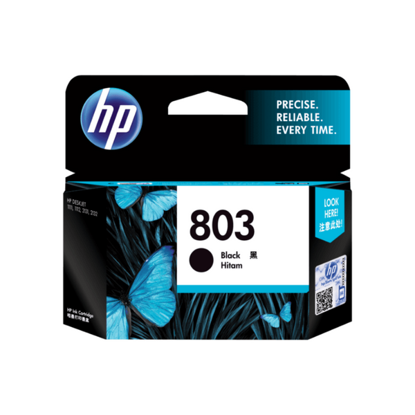 HP 803 Black Cartridge