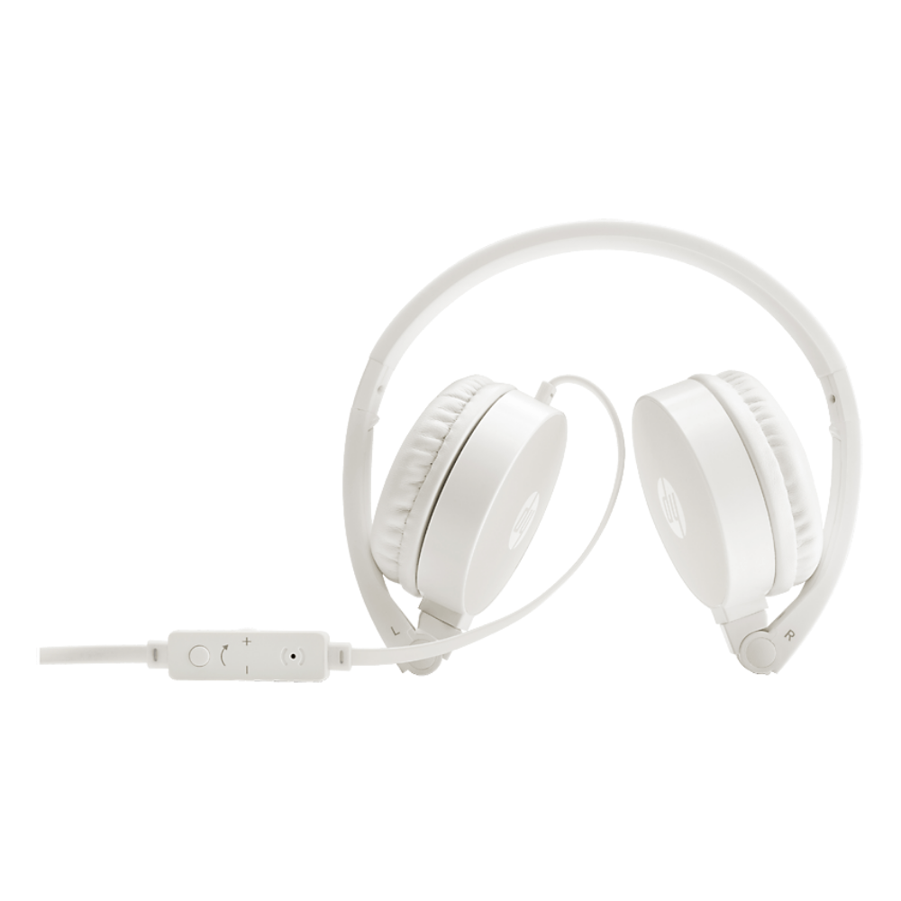 HP H2800 Headset - White