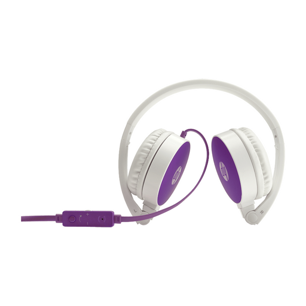 HP H2800 Headset - Purple