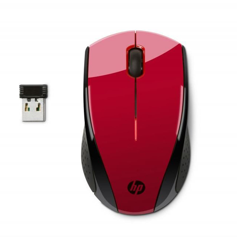 HP X3000 Wireless Mouse - Red