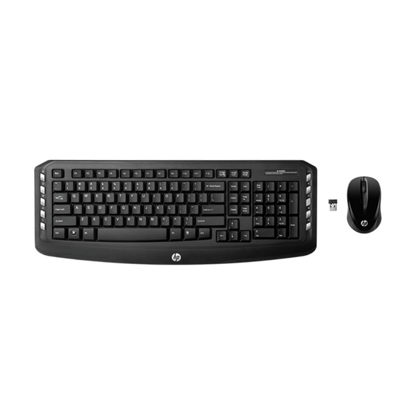 HP Wireless Multimedia Keyboard + Mouse Combo