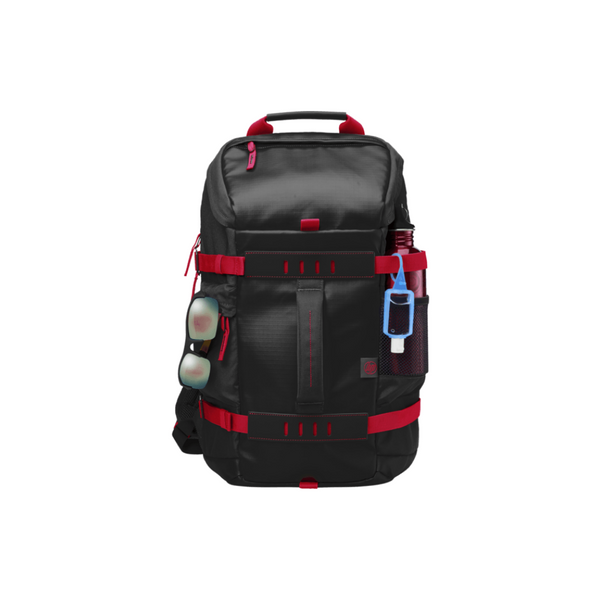 HP Montego Black Red Back Pack