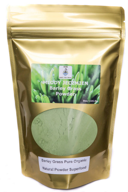 Organic Barley Grass Powder 8oz Pure Natural Superfood,