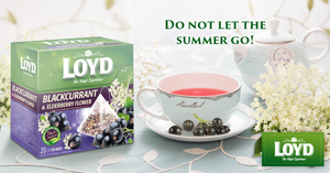 Blackcurrant and Elderberry Flower - Herbal Fruit Tea