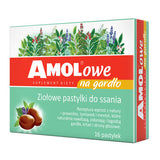 Amolowe throat lozenges 16 - Amolowe na gardło x 16 pastylek do ssania