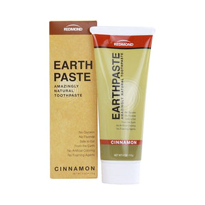 Redmond Trading Company Real Salt Earthpaste Cinnamon Natural Toothpaste - 113 g - FREE Shipping