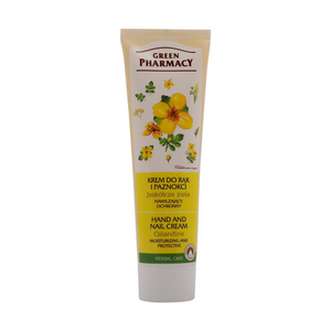 Hand and Nail Cream - CELANDINE - Green Pharmacy 100 ml FREE SHIPPING