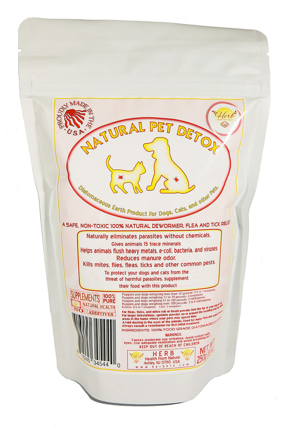 Natural Pet Detox - 50%off SALE