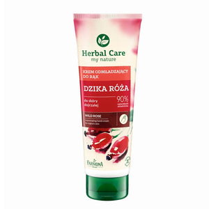 Rejuvenating hand and nail cream with wild rose extract - Herbal Care