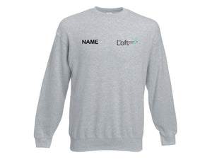 The Loft Studios Long Sleeve Grey Jumper