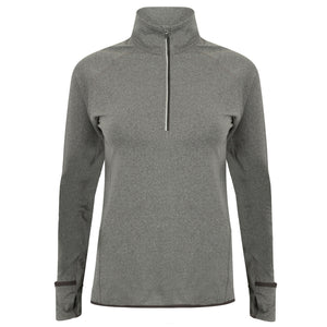 Women's Half Zip Gym Top