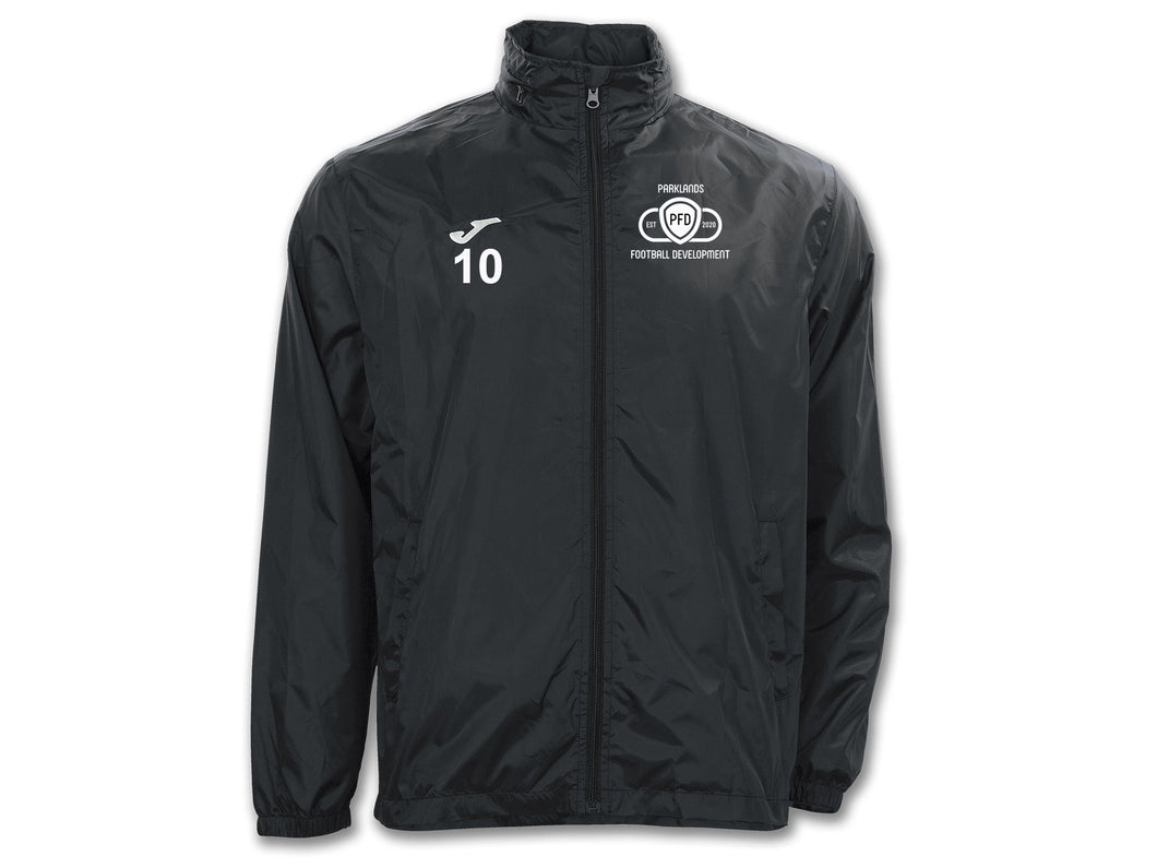 Parklands Football Development Players Raincoat