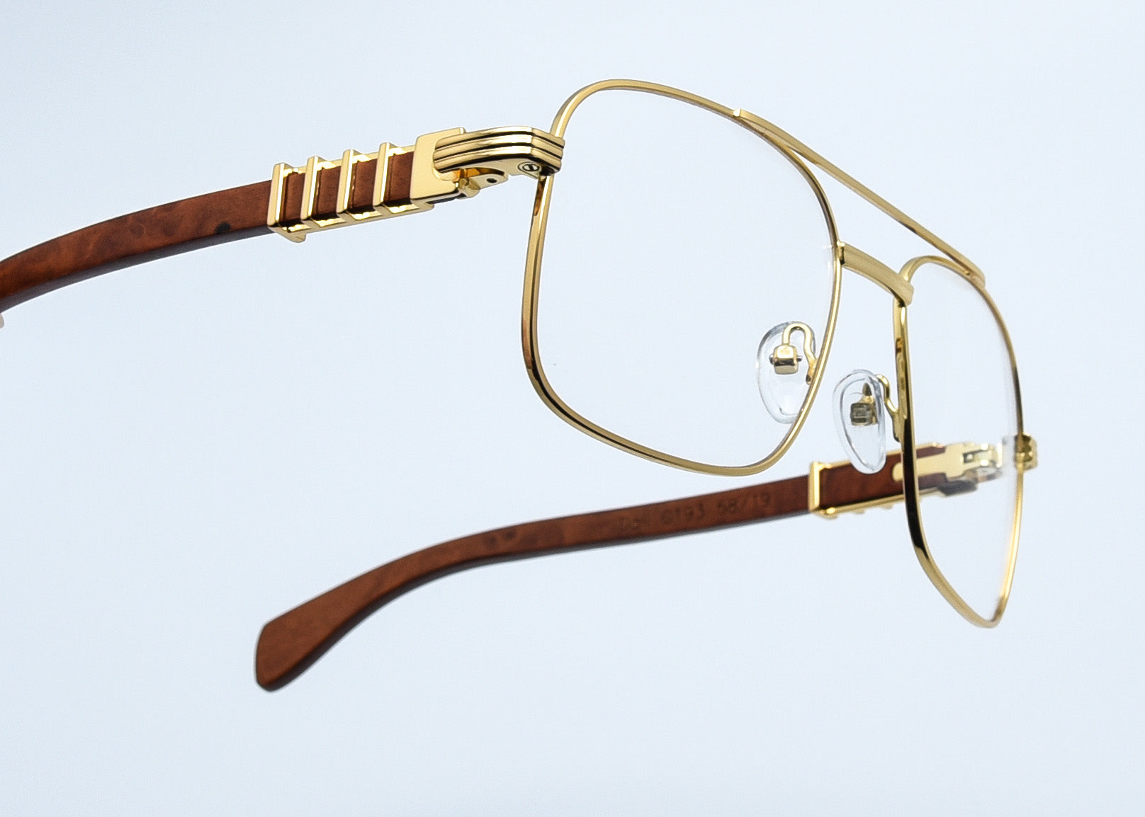 Clear Lenses - Gold Column - Burl Wood - DALI