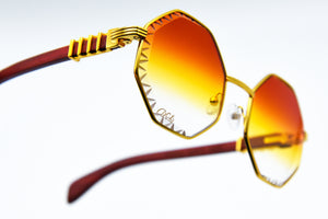 Fire Fade  - Diamond Cut Lenses - DaVinci