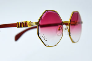 Fuchsia Fade - Diamond Cut Lenses - DaVinci