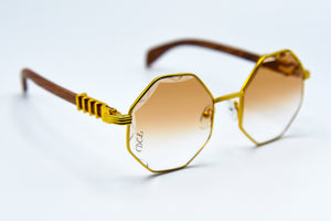 Light Fade Brown - Diamond Cut Lenses - DaVinci