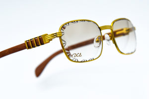 Beige Michelangelo Diamond Cut Lenses