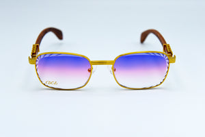 Cotton Candy Fade - Diamond Cut Lenses - Michelangelo