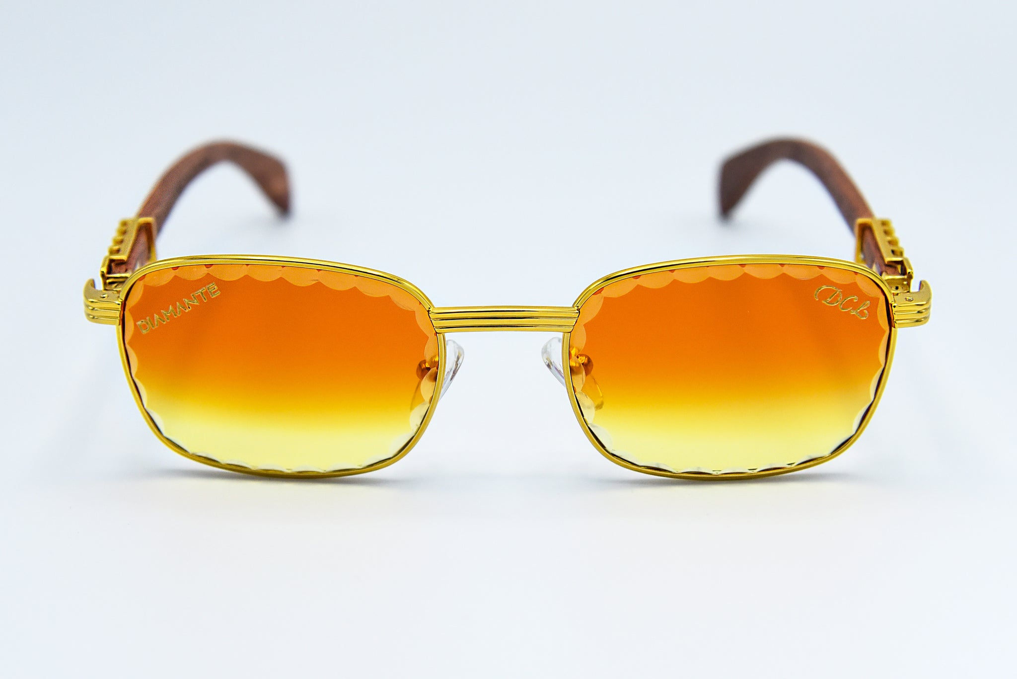 Fire Fade - Scallop Cut Lenses - Michelangelo