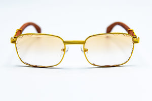 Light Brown Fade - Transitions - Diamond Cut Lenses -  Michelangelo