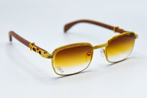 Sunset Fade - Diamond Cut Lenses - Michelangelo