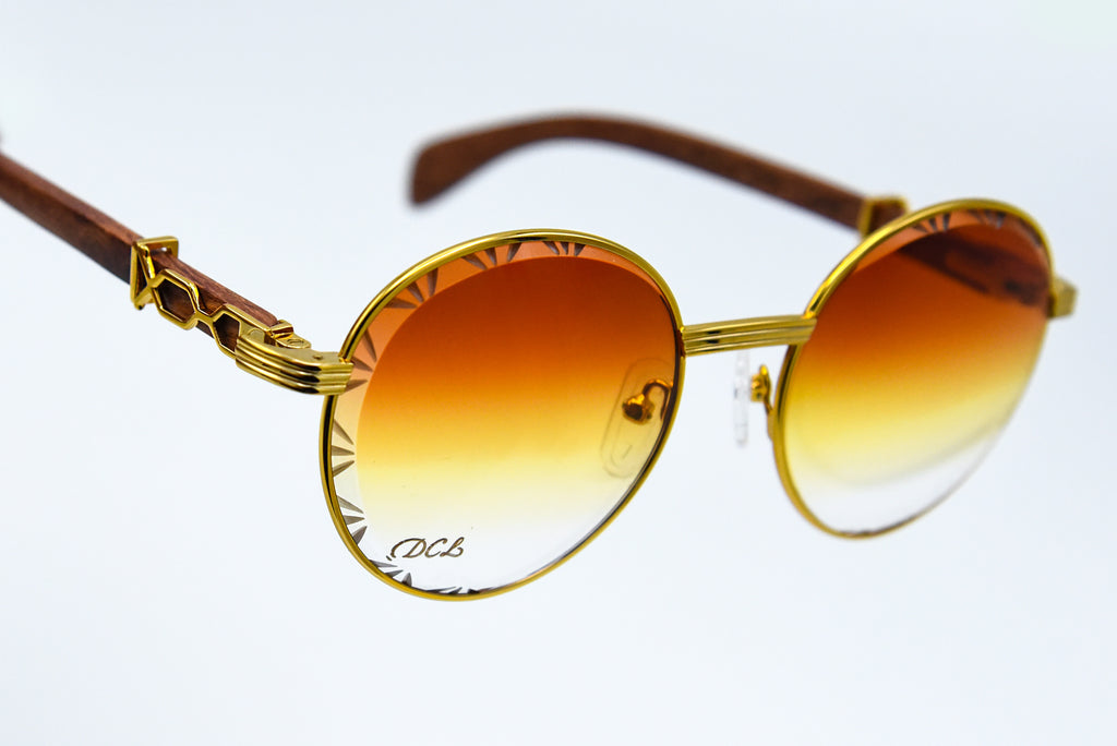 Sunset Fade - Diamond Cut Lenses - Picasso