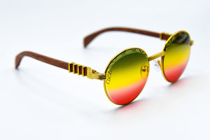 Rasta Fade - Diamond Cut Lenses - Picasso