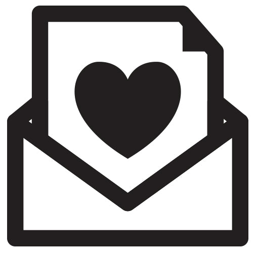 Envelope With Love Heart