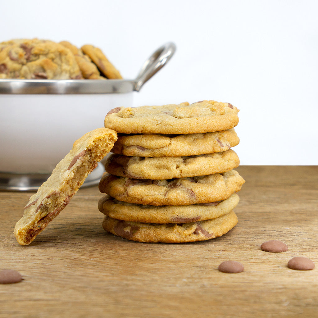 Belgian Milk Chocolate Chip Cookies