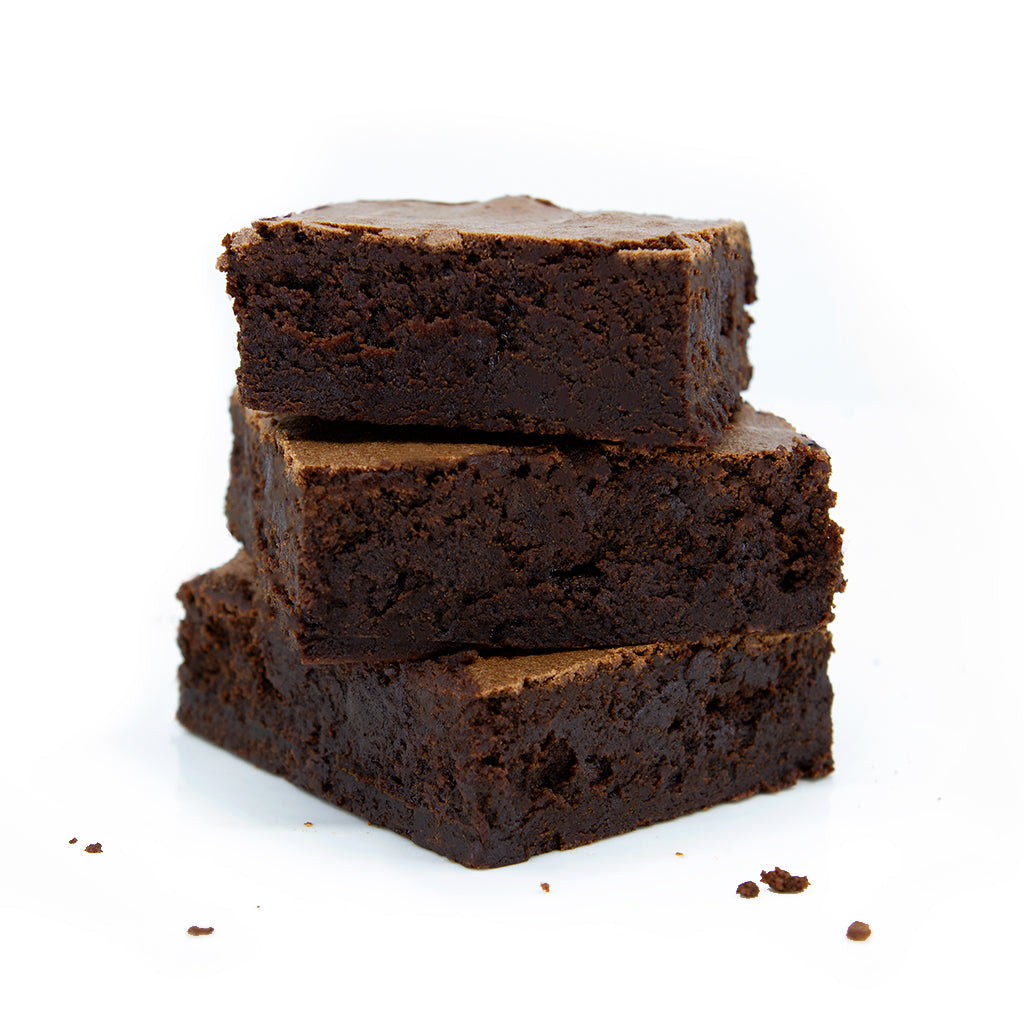 Rich Dark Chocolate Brownies