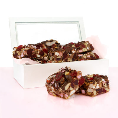 Rocky Road In White Box