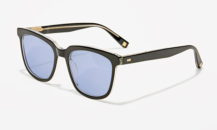 fournier medium acetate wayfarer sunglasses